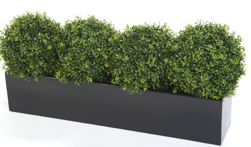 Window Box With Artificial Box Plants